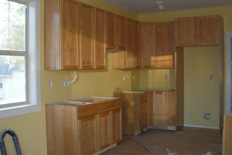 New Cabinet Installation Kopp Construction
