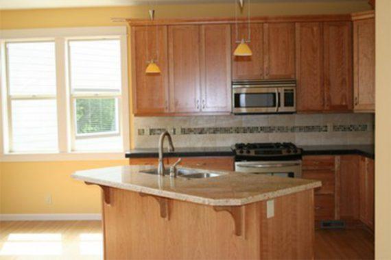 Maple Cabinets Granite Counters