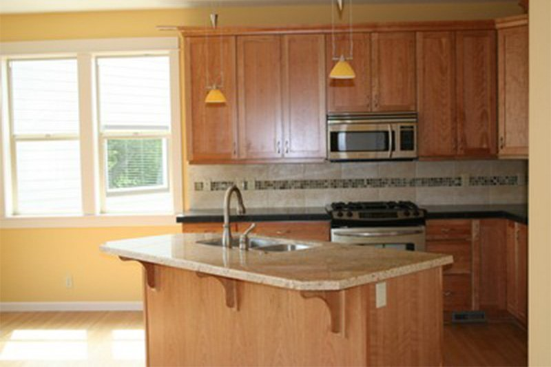 Maple Cabinets Granite Counters