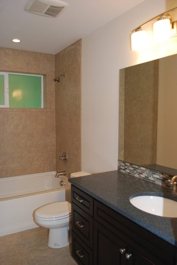 Bathroom granite counters