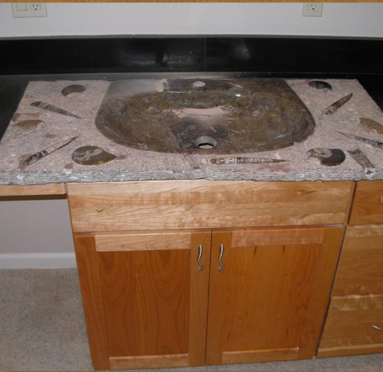 Genuine Fossil Vanity Sink