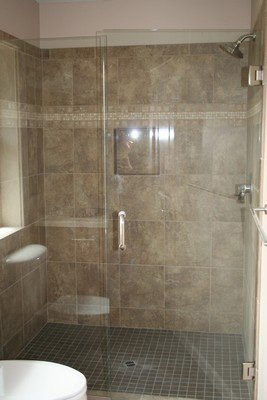 Glass Shower Enclosure Bath