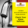 Home Maintenance Reminder: Check your water softener