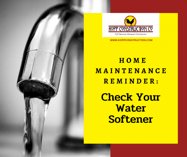 check water softener.Kopp Construction: General Contractor - Portland, OR Metro Area. We are a Custom Home Builder offering new home construction, remodeling, additions, and more. Services include Custom Home Construction, Design Work & Plans, Custom Remodeling, Repairs, Additions, Commercial Building, and more.