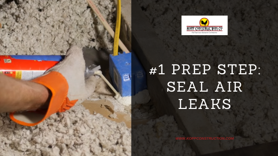 6) The #1 Prep Step Seal Air LeaksKopp Construction: General Contractor - Portland, OR Metro Area. We are a Custom Home Builder offering new home construction, remodeling, additions, and more. Services include Custom Home Construction, Design Work & Plans, Custom Remodeling, Repairs, Additions, Commercial Building, and more.