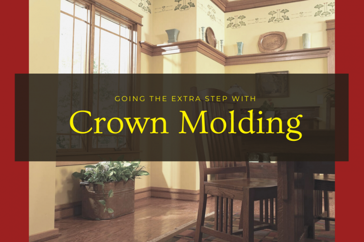 Going The Extra Step With Crown Molding
