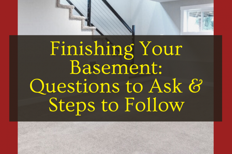 5 Questions to Ask Yourself Before You Start Finishing Your Basement