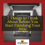 7 Steps to Finishing an Attic