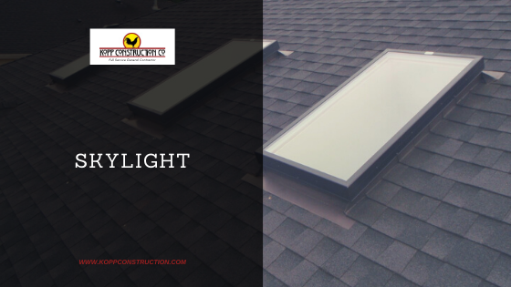 Skylight. Kopp Construction: General Contractor - Portland, OR Metro Area. We are a Custom Home Builderoffering new home construction, remodeling, additions, and more. Services include Custom Home Construction, Design Work & Plans, Custom Remodeling, Repairs, Additions, Commercial Building, and more.