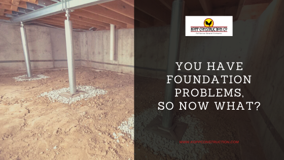 You have foundation problems so now what? Kopp Construction: General Contractor - Based out of forest grove construction and works Portland, OR Metro Area. We are a Custom Home Builder offering new home construction, remodeling, additions, and more. Services include Custom Home Construction, Design Work & Plans, Custom Remodeling, Repairs, Additions, Commercial Building, and more.