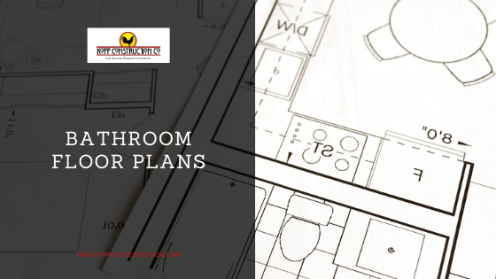 Bathroom floor Plans. Kopp Construction: General Contractor - Based out of forest grove construction and works Portland, OR Metro Area. We are a Custom Home Builder offering new home construction, remodeling, additions, and more. Services include Custom Home Construction, Design Work & Plans, Custom Remodeling, Repairs, Additions, Commercial Building, and more.