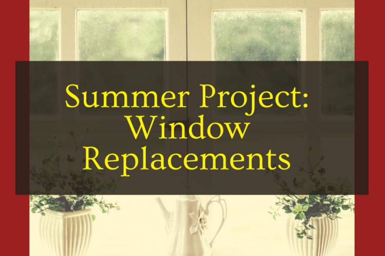 Summer Project: Window Replacements